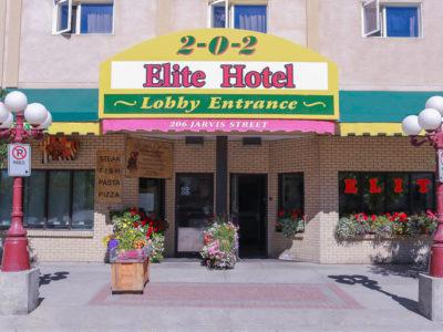 elite hotel yukon