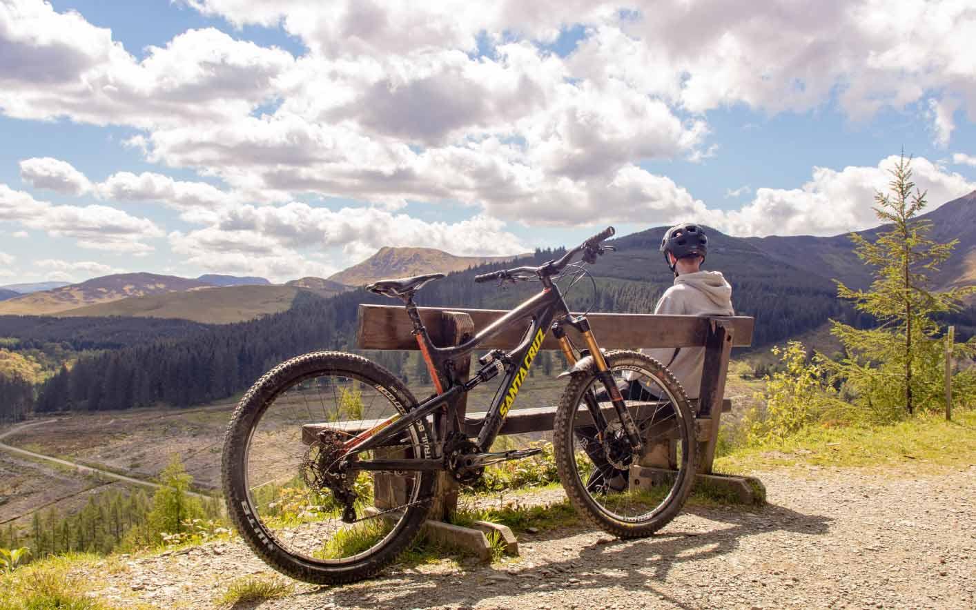 biking in yukon